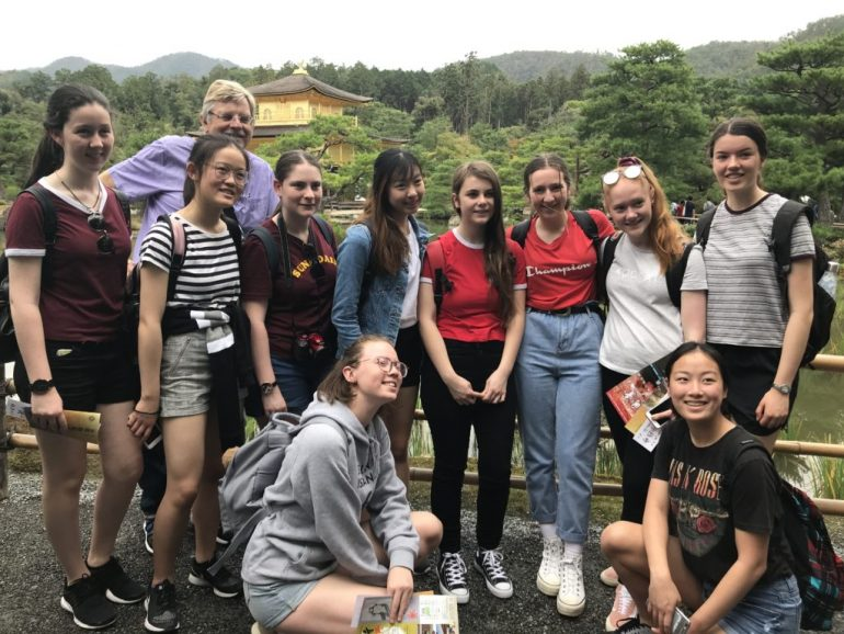 Carey Students Visit Japan